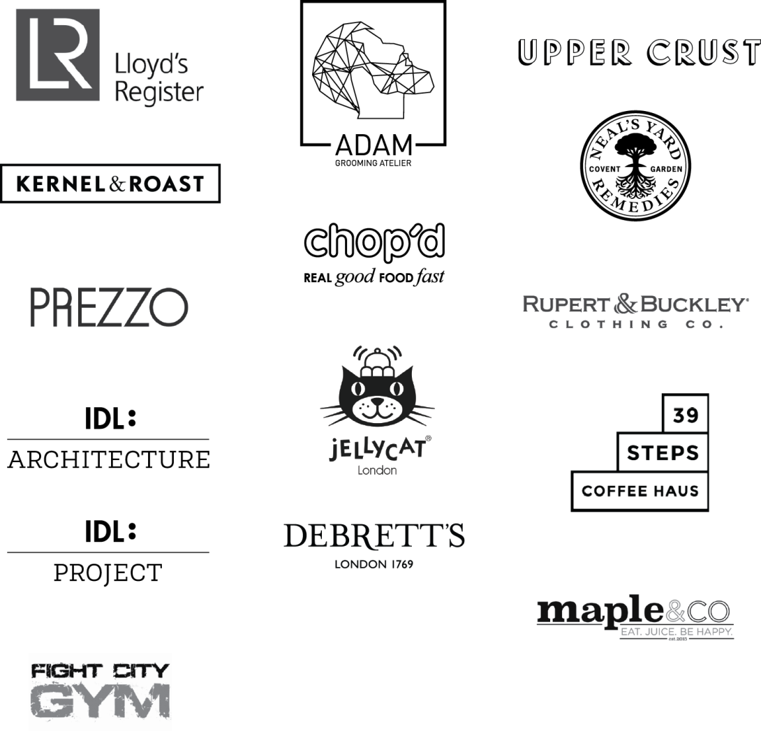 logos for LP website page